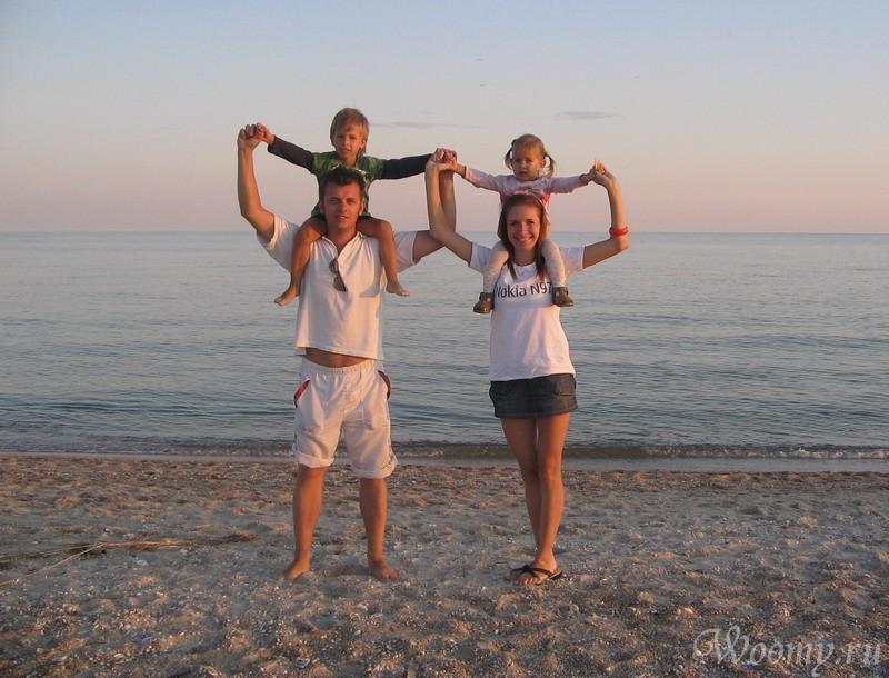 Отдых с детьми на Чёрном море