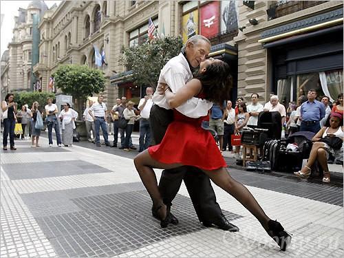 Фестиваль танго в Буэнос Айресе