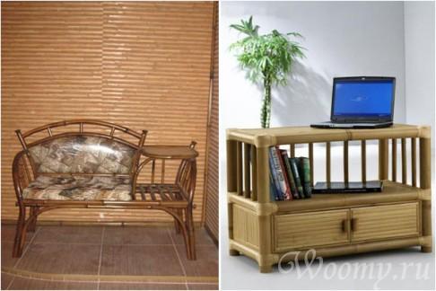 идеи из бамбука