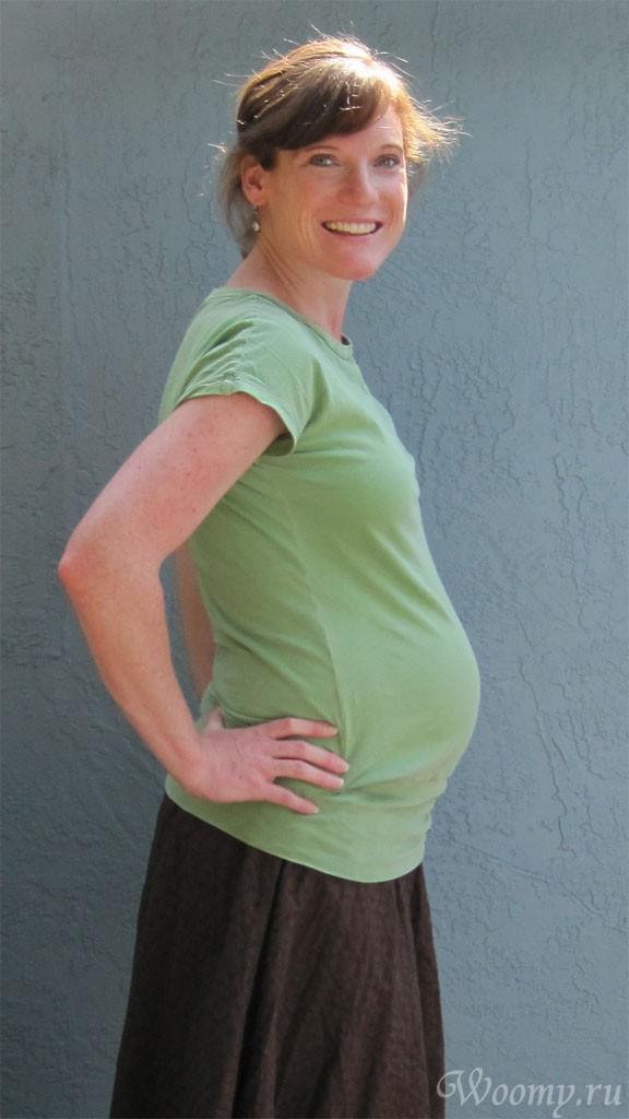 Тянет низ живота при беременности 15 недель