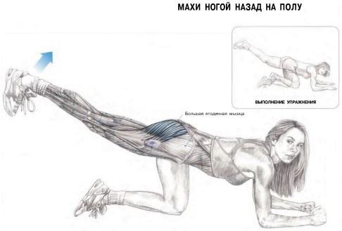 Поднимание ног