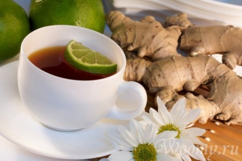 Имбирный чай для похудения