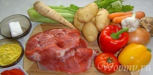 Рецепт тушеного мяса в мультиварке
