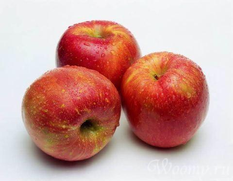 Гречка с яблоками