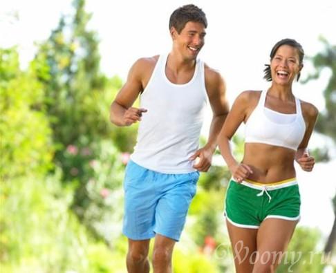интервальный бег для похудения таблица программа