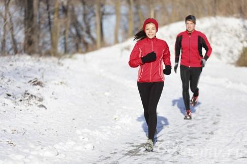 Как правильно бегать зимой