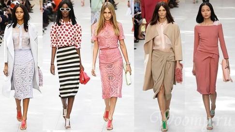 Модные тенденции весна лето 2014