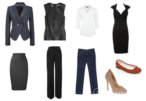 базовый гардероб для полных женщин