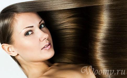 кератинового выпрямления волос