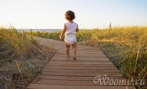 Как отказаться от подгузника во время прогулки