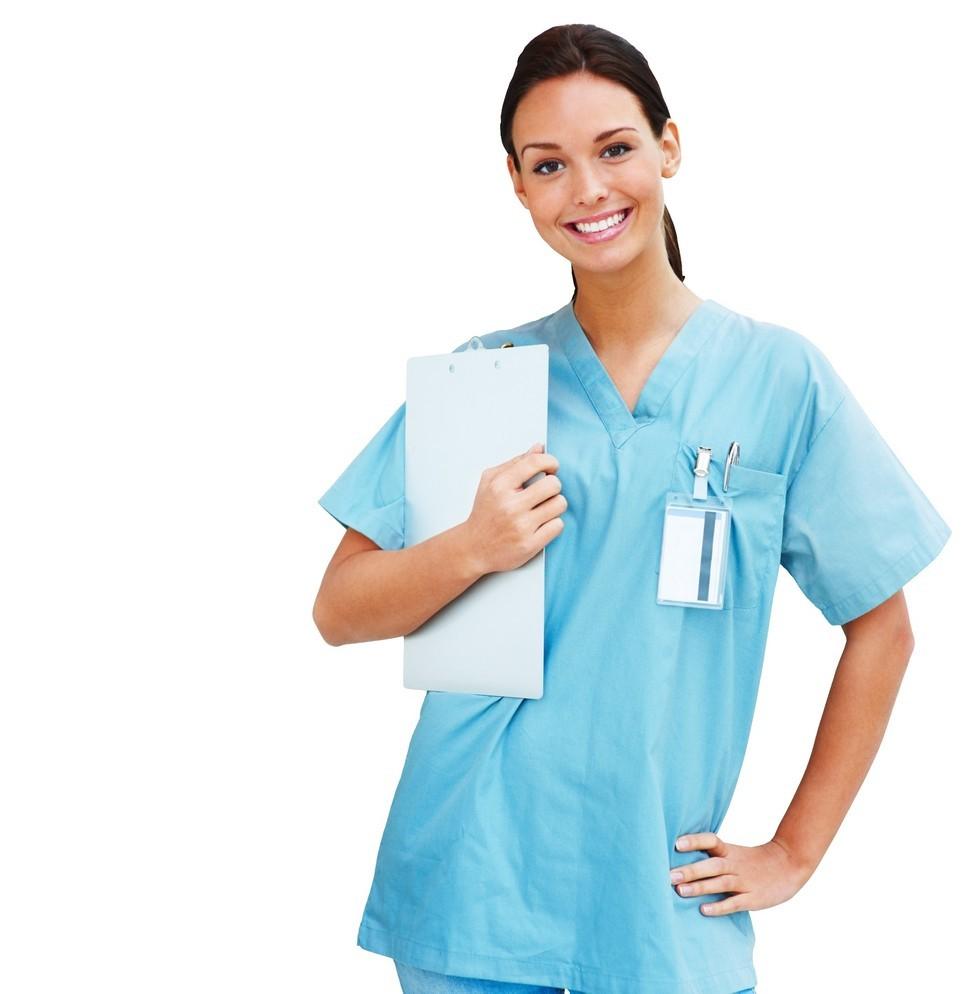 Фото девушек в белых халатах медиков