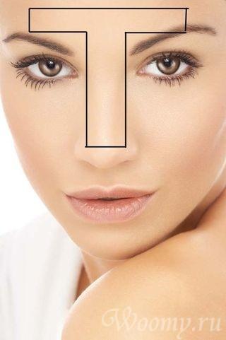 Комбинированный тип кожи