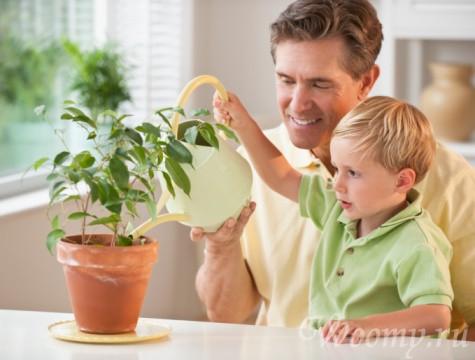 приучаем ребенка к домашним делам 4-5 лет