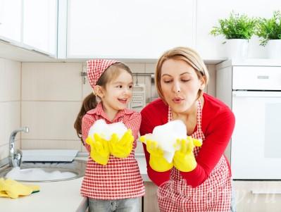 приучаем ребенка к домашним делам 5 лет и старше
