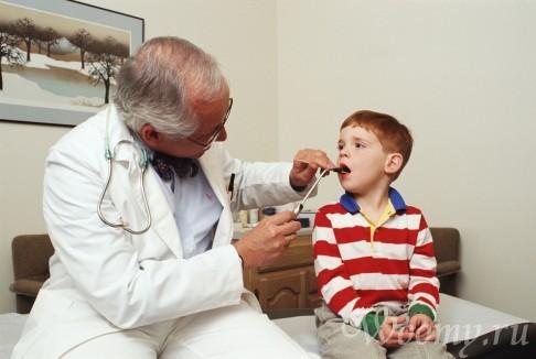 простуда у ребенка врач