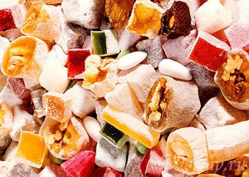 сладости из магазина