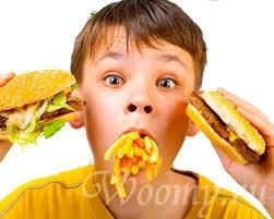 Причины детского ожирения