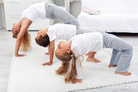 физические нагрузки для ребенка